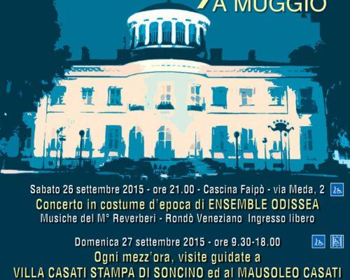 Ensemble Odissea Muggiò – Cascina Faipò 26 settembre 2015