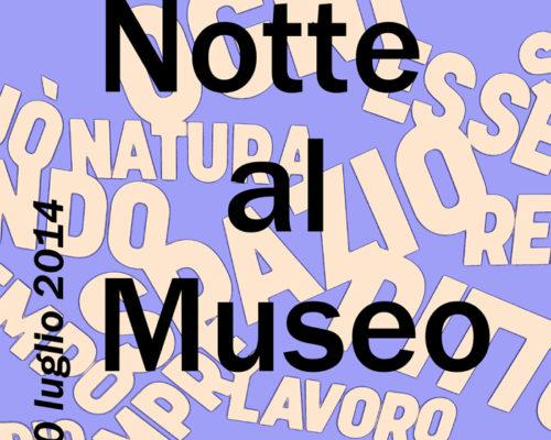 Notte al Museo 2014